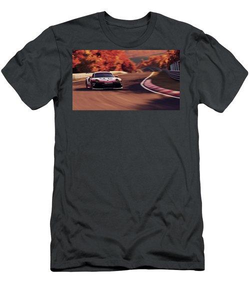 Porsche 911 Rsr, Nordschleife - 41 Men's T-Shirt (Athletic Fit)