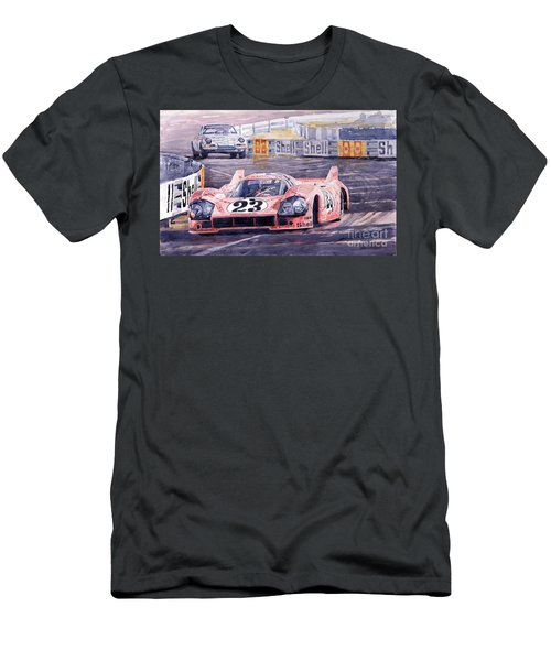 Porsche 917-20 Pink Pig Le Mans 1971 Joest Reinhold Men's T-Shirt (Athletic Fit)