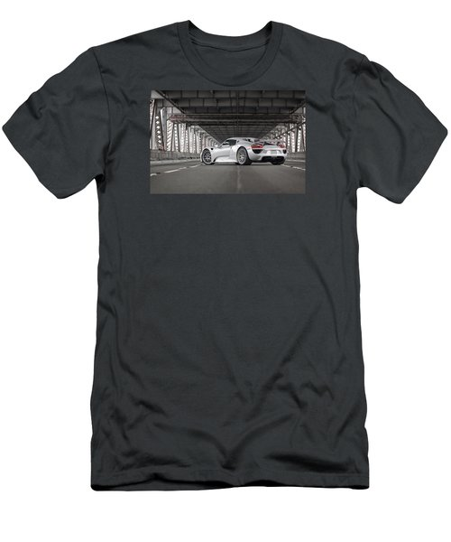 Porsche 918 Spyder Men's T-Shirt (Athletic Fit)