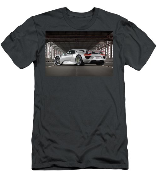 #porsche #918spyder #print Men's T-Shirt (Athletic Fit)