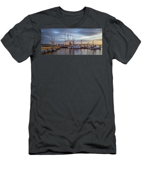 Port Royal Shrimp Boats Men's T-Shirt (Athletic Fit)