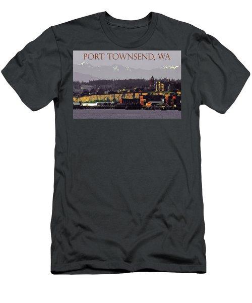 Port Townsend Washington Men's T-Shirt (Athletic Fit)