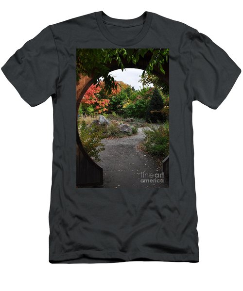 Portal To Paradise Men's T-Shirt (Athletic Fit)