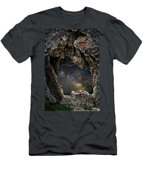 Men's T-Shirt (Athletic Fit) featuring the photograph Portal To The Universe by Scott Read