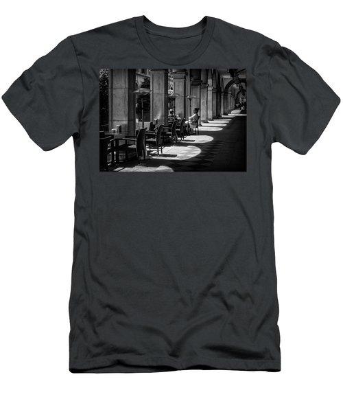 Portico Conversation Men's T-Shirt (Athletic Fit)