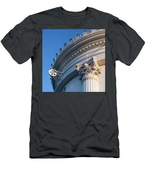 Portland Breakwater Light  -58750 Men's T-Shirt (Slim Fit) by John Bald