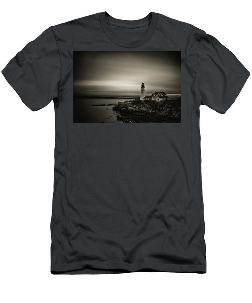 Portland Head Light 3 Men's T-Shirt (Athletic Fit)