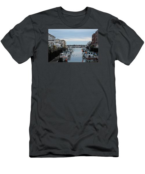 Portland Maine  Men's T-Shirt (Athletic Fit)
