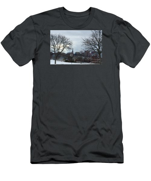 Portland, Maine, My City By The Bay Men's T-Shirt (Slim Fit) by Patricia E Sundik