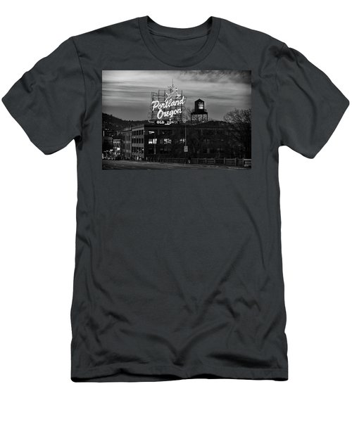 Portland Signs Men's T-Shirt (Athletic Fit)