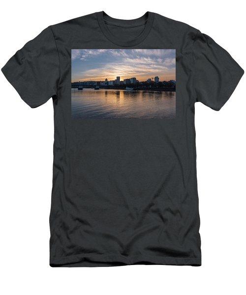 Portland Sunset Men's T-Shirt (Athletic Fit)