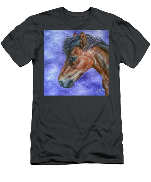 Portrait Of A Pony Men's T-Shirt (Athletic Fit)