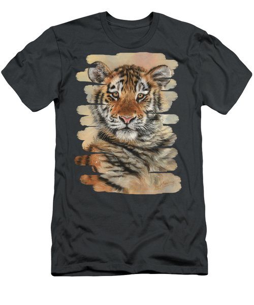 Portrait Of A Tiger Cub Men's T-Shirt (Athletic Fit)