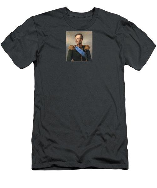 Portrait Of Emperor Nikolai Men's T-Shirt (Athletic Fit)