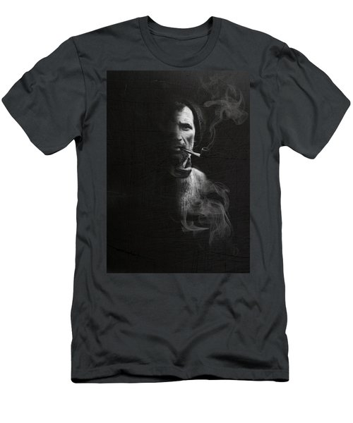 Portrait Of Tom Crean Antarctic Explorer Men's T-Shirt (Athletic Fit)
