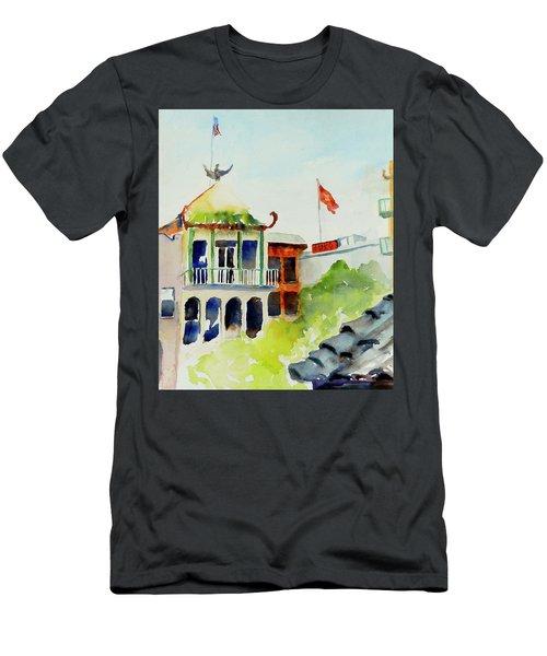 Portsmouth Square Men's T-Shirt (Athletic Fit)