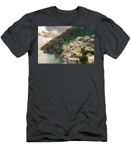 Positano Sunset Men's T-Shirt (Athletic Fit)