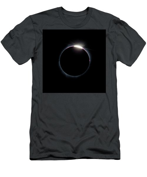 Post Diamond Ring Effect Men's T-Shirt (Athletic Fit)