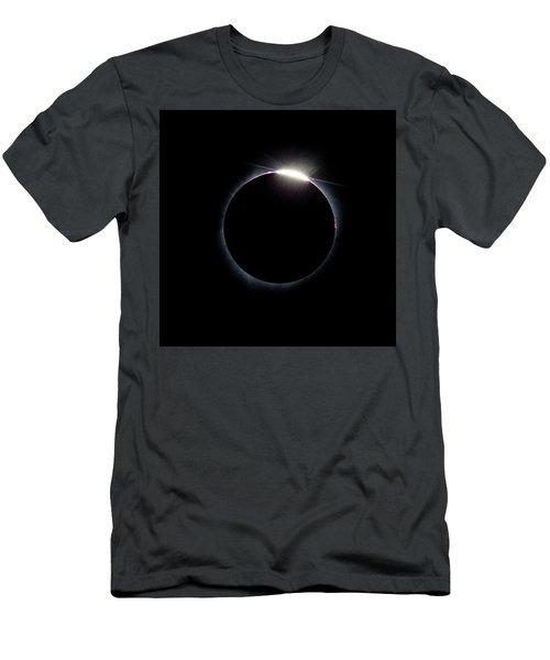 Post Diamond Ring Effect Men's T-Shirt (Athletic Fit)