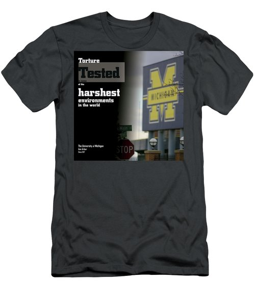 Poster Of The Big House Men's T-Shirt (Athletic Fit)