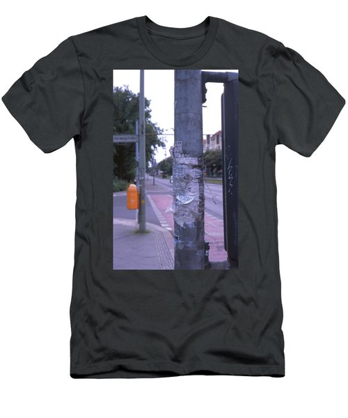 Posts And Towers In Berlin Men's T-Shirt (Athletic Fit)
