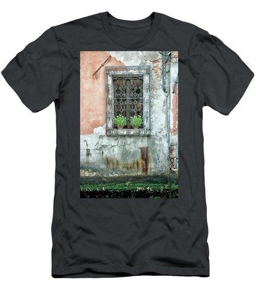 Pot Plant Window Men's T-Shirt (Athletic Fit)