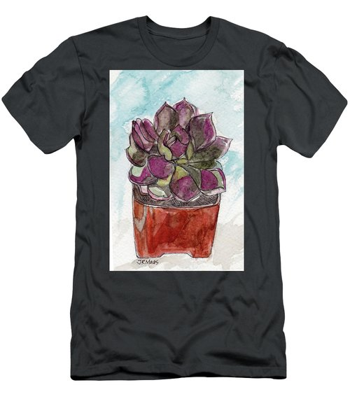 Potted Cactus Men's T-Shirt (Athletic Fit)