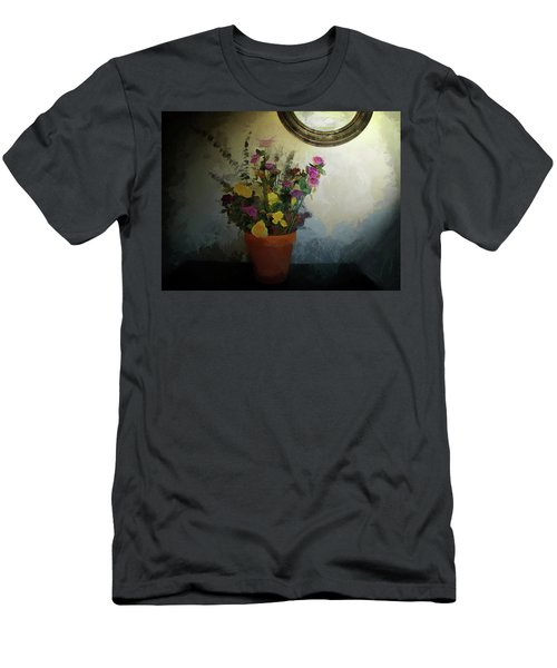 Potted Flowers 2 Men's T-Shirt (Athletic Fit)