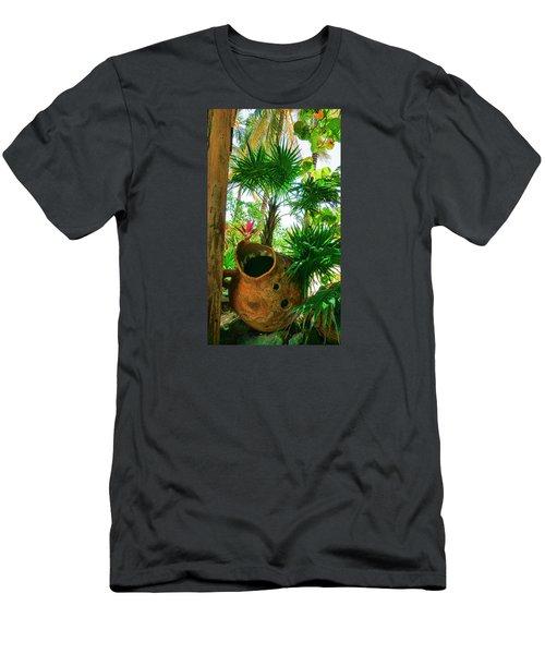 Pottery Ambergris Caye Belize Men's T-Shirt (Athletic Fit)