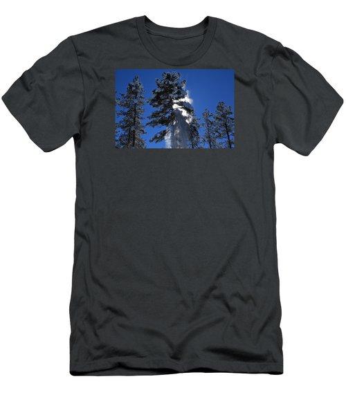 Powderfall Men's T-Shirt (Slim Fit) by Gary Kaylor