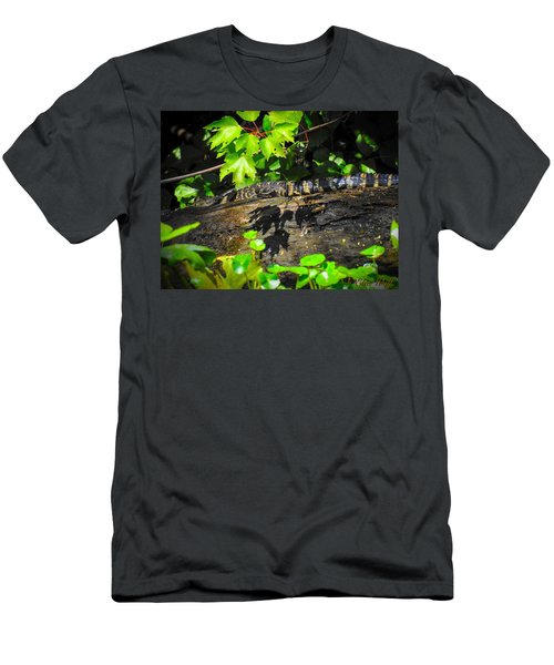 Practicing My Alligatorness Men's T-Shirt (Athletic Fit)