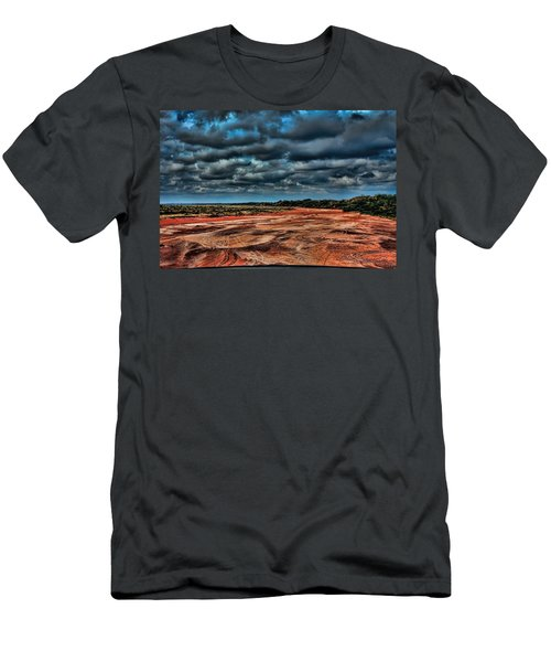 Prairie Dog Town Fork Red River Men's T-Shirt (Athletic Fit)