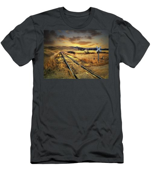 Prairie Tracks Men's T-Shirt (Athletic Fit)