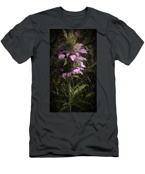 Men's T-Shirt (Slim Fit) featuring the photograph Prairie Weed Flower by Donna G Smith