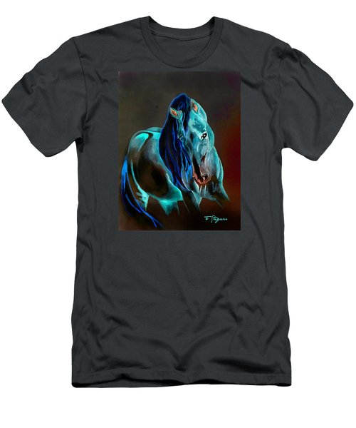 Pre In Blue Men's T-Shirt (Athletic Fit)