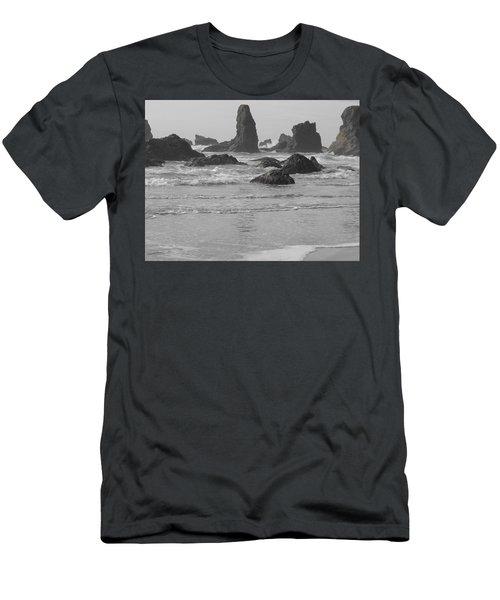 Prehistoric Shore Men's T-Shirt (Athletic Fit)