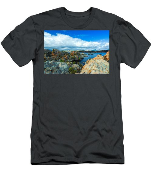 Prescott Rocks Men's T-Shirt (Athletic Fit)