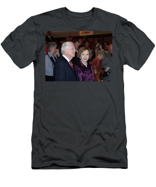 President And Mrs. Jimmy Carter Nobel Celebration Men's T-Shirt (Athletic Fit)