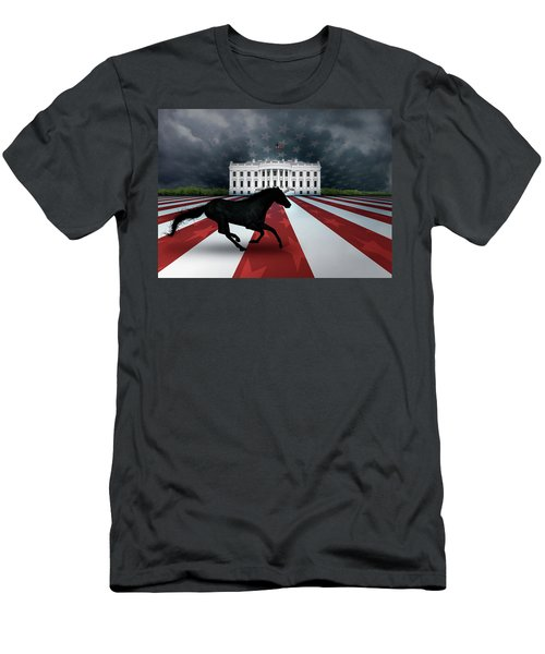 Presidential Dark Horse Men's T-Shirt (Athletic Fit)