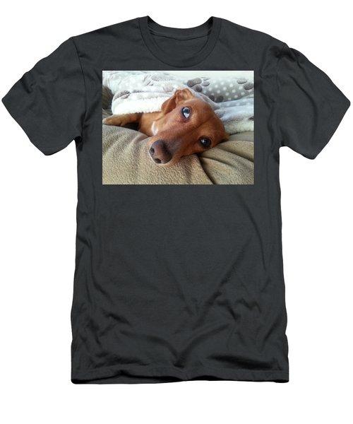 Pretzel By Chera Men's T-Shirt (Slim Fit) by John Loreaux