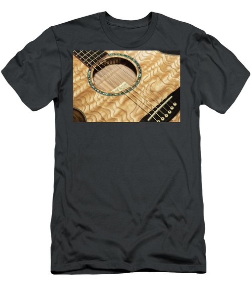 Pretty Guitar - Men's T-Shirt (Athletic Fit)