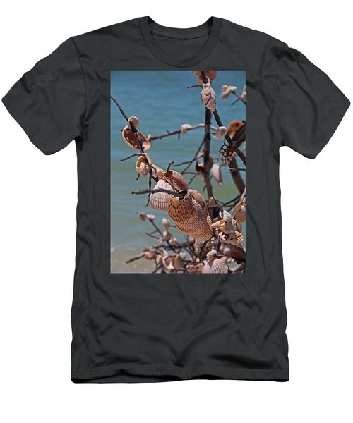 Men's T-Shirt (Athletic Fit) featuring the photograph Previously Loved Treasures by Michiale Schneider