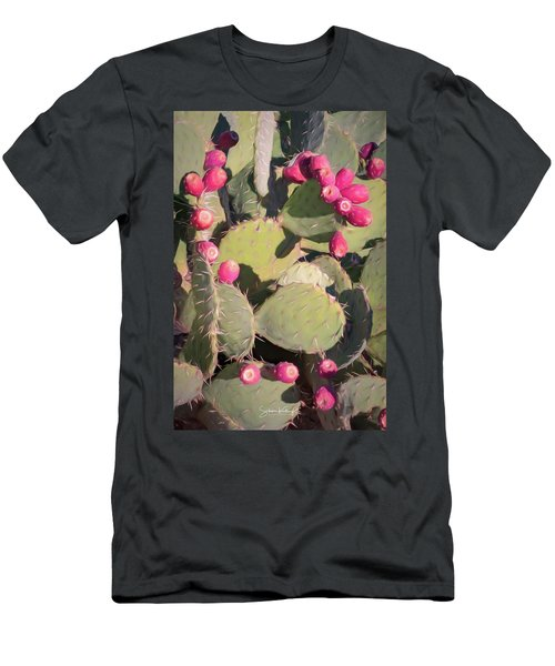 Prickly Pear Cactus Men's T-Shirt (Athletic Fit)