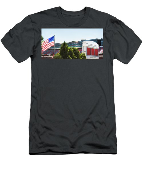 Men's T-Shirt (Slim Fit) featuring the photograph Pride Of Athens by Parker Cunningham