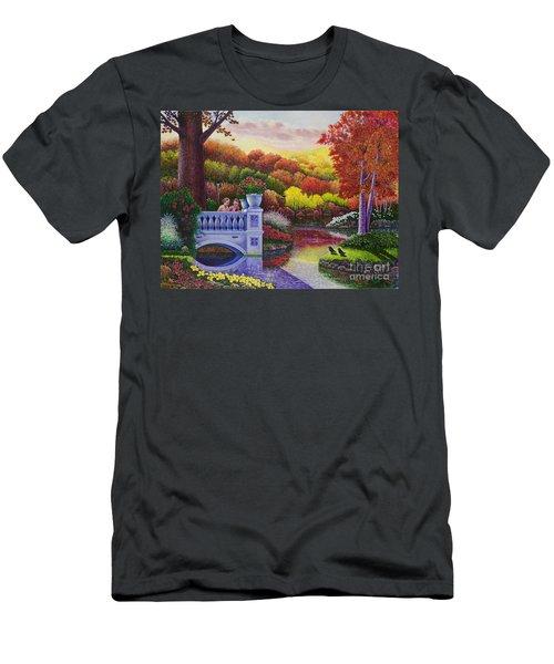 Princess Gardens Men's T-Shirt (Athletic Fit)