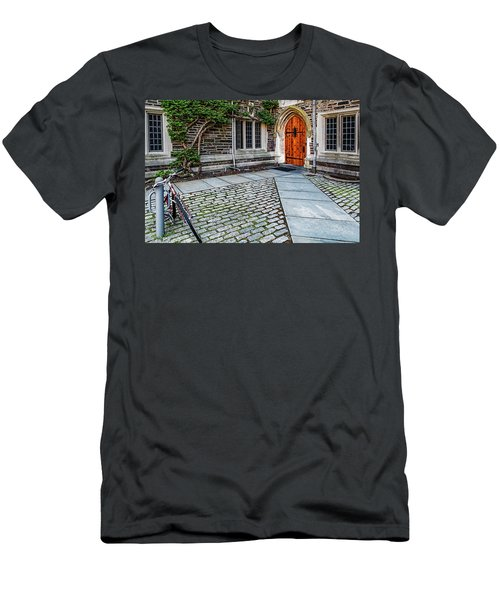 Men's T-Shirt (Slim Fit) featuring the photograph Princeton University Foulke Hall by Susan Candelario