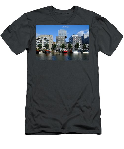 Men's T-Shirt (Athletic Fit) featuring the photograph Prinseneiland Amsterdam by August Timmermans