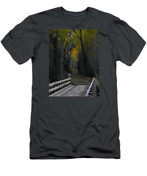 Privacy Men's T-Shirt (Slim Fit) by Laura Ragland