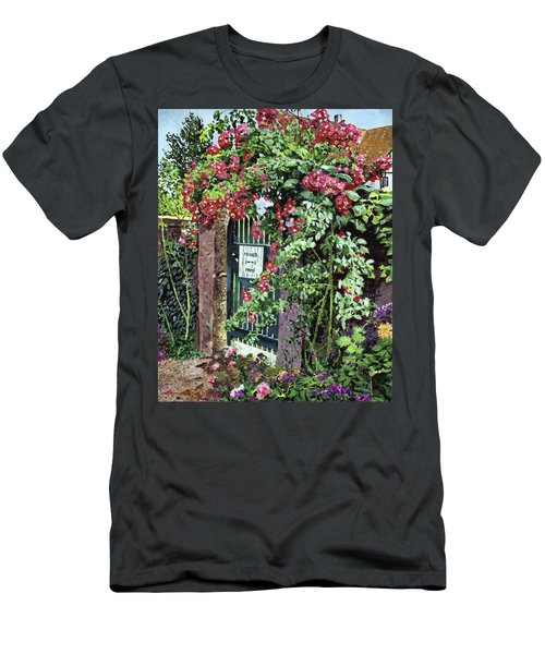 Private English Garden Men's T-Shirt (Athletic Fit)