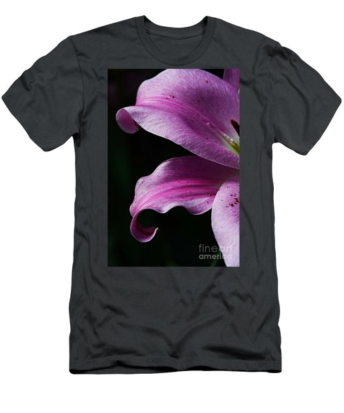 Profile In Pink Men's T-Shirt (Slim Fit) by Cindy Manero